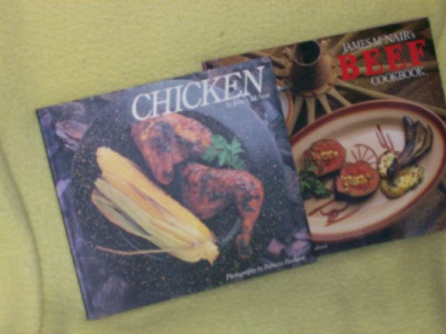 James McNairs Chicken & Beef Cookbooks