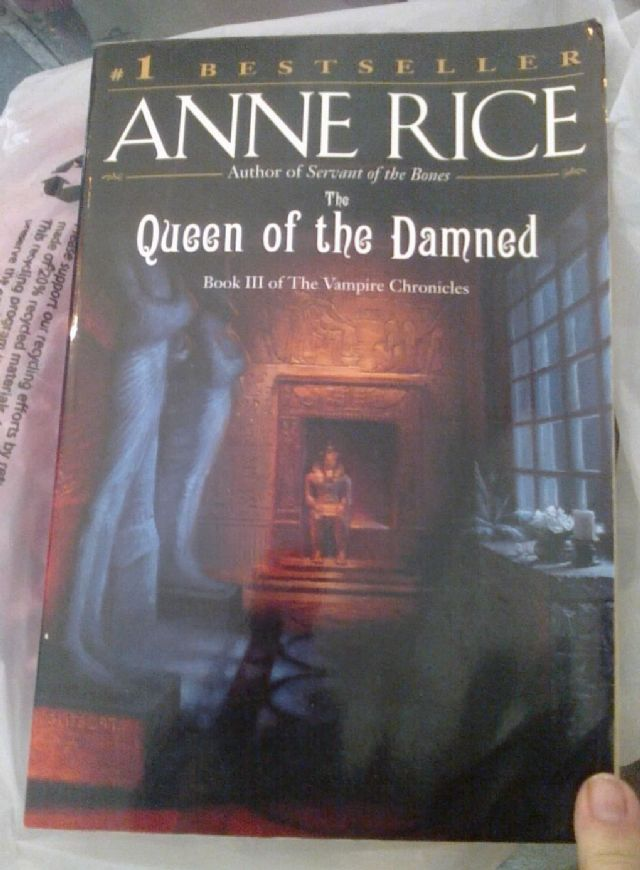 Book, Queen of the Damned by Anne Rice