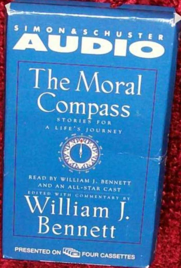 Audiobook - The Moral Compass by William Bennett