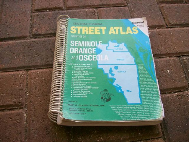Central Florida Street Atlas