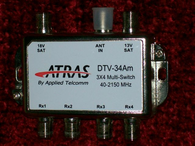 DirecTV 3x4 Multi-Switch ATRAS