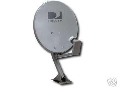 DirecTV Satellite Dish Round with Dual LNB