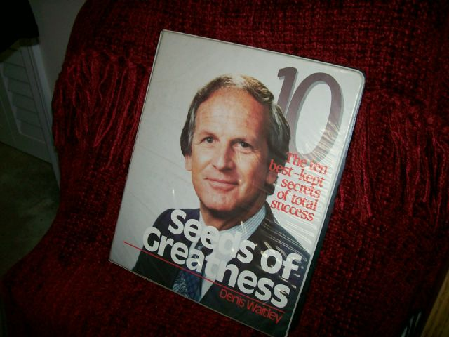 Seeds of Greatness Denis Waitley Audio Program