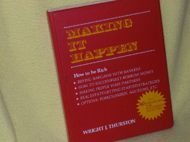 Making It Happen - How to Be Rich course