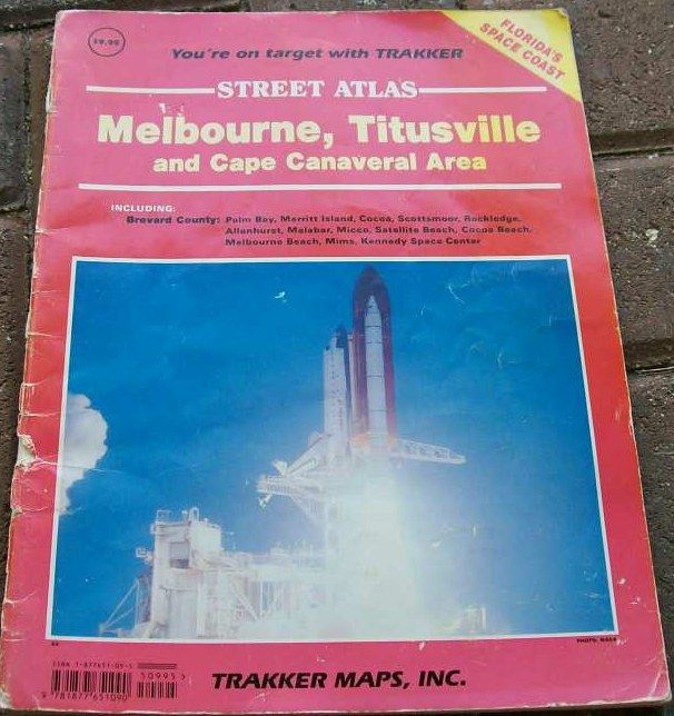 Melbourne-Titusville-Space Coast Street Atlas