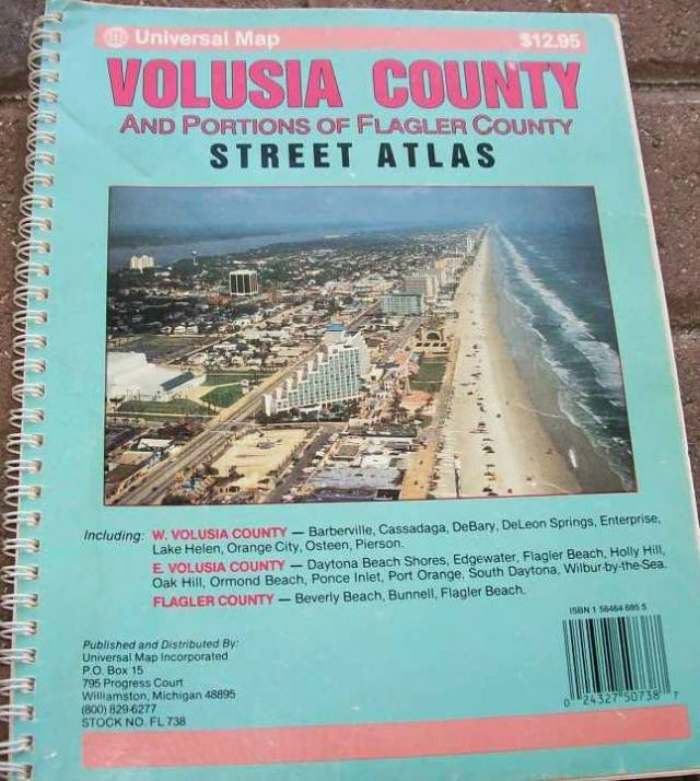 Volusia County Street Atlas