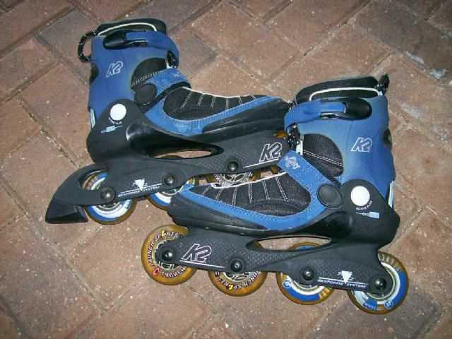 Velocity K2 RollerBlades Men Size 7.5 or Women 9.5