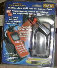 Rayovac Hands-Free Cell Phone Kit