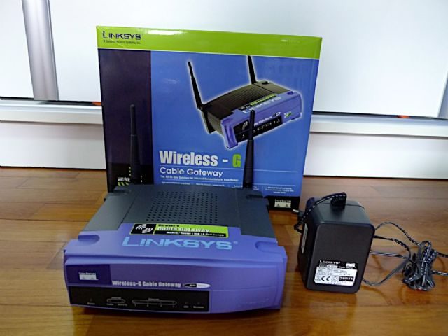 Linksys BEFW11S4 Wireless Router
