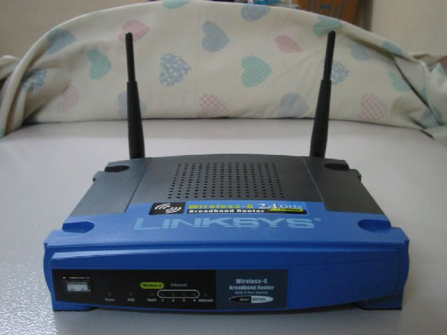Wireless G Router Linksys WRT54G