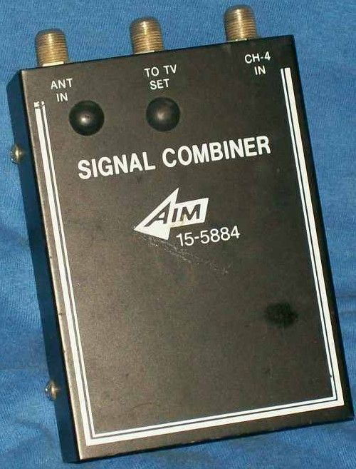 Signal Combiner for Tv