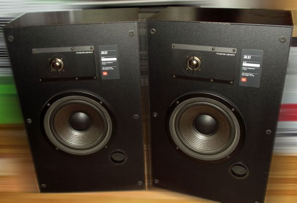 Vintage Pair of JBL 82 Stereo Speakers