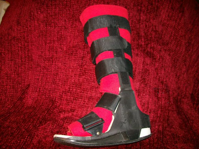 Protective Walking Boot for Sprained Ankle