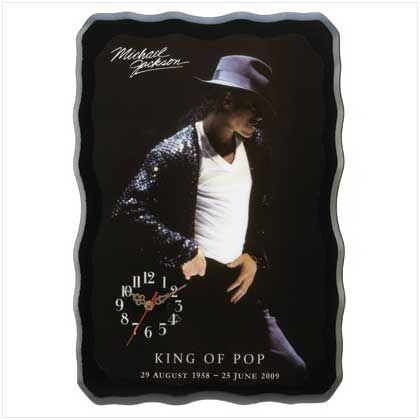 Michael Jackson Wall Clocks
