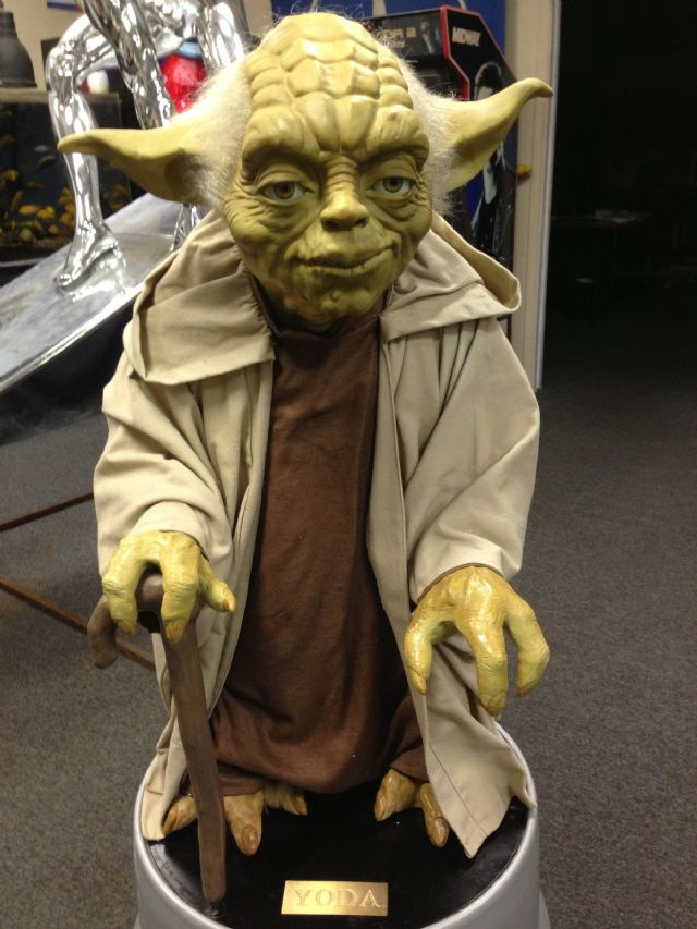 Life Size Star Wars Yoda STAND NOT INCLUDED in Yorkville IL - Life ...
