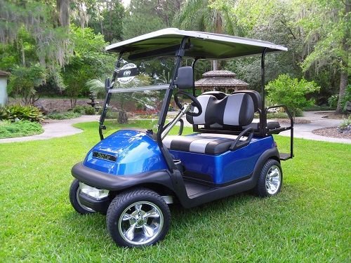 2014 GOLF CART BLUE PRECEDENT PEARL CLUB CAR chic CHICAGO ILLINOIS Clified Ads For Golf Carts on
