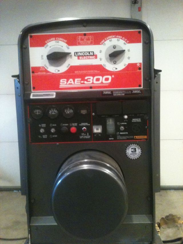 lincoln welder sae300 shield dc welding machine chicago illinois tools for sale classified ads