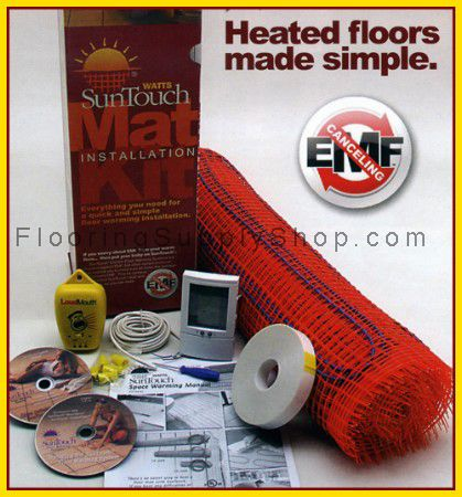 Suntouch Electric Radiant Floor Heat Mats KIT 10 S