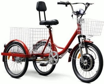 Electric Trike Bicycle Moped