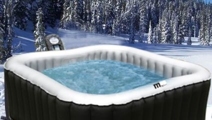 4 Person Alpine Spa Inflatable Hot Tub