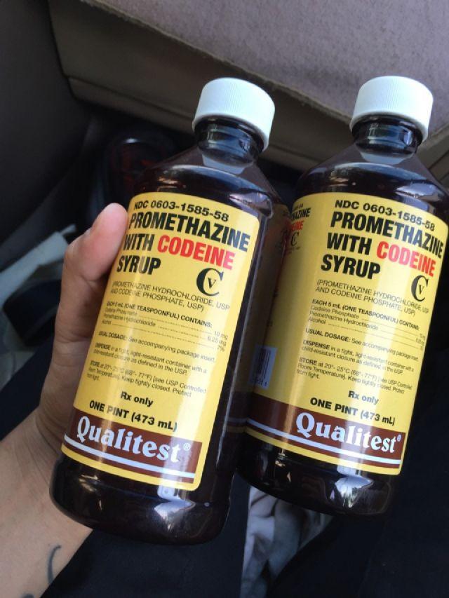 Codeine promethazine bestellen belgie