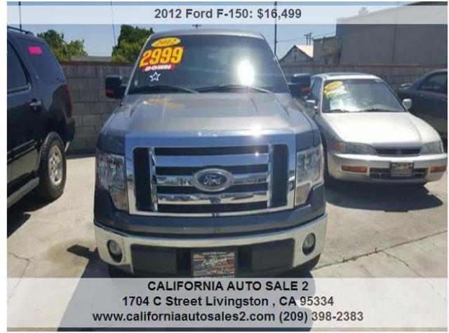 California Auto Sales >> 2012 Ford F 150 California Auto Sales 2 Modesto California Pickup