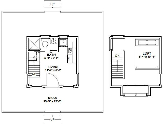 12x12 tiny house 282 sqft pdf floor plan rogers for Tiny house floor plans pdf