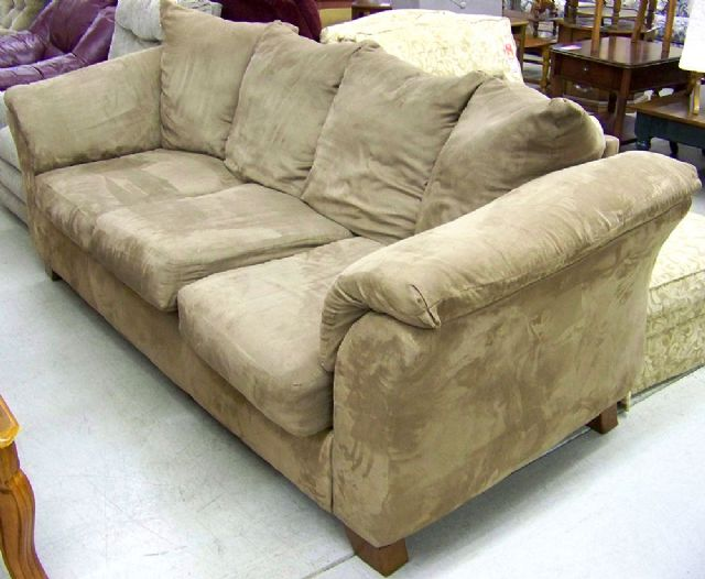 Restoration hardware sofa cloud
