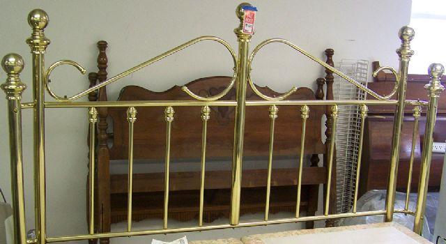 Beautiful King Size Brass Headboard Decatur Illinois