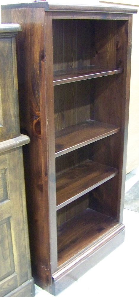 Ethan Allen Dark Knotty Pine Bookcase Champaign Illinois