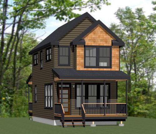 12x16 tiny house pdf floor plan 364 sq ft savannah for 16x32 2 story house plans