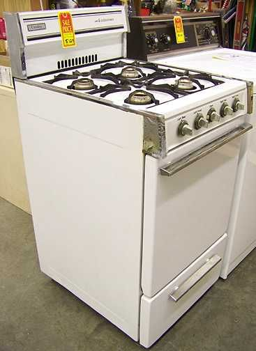 crosley natural gas apartment size stove champaign illinois
