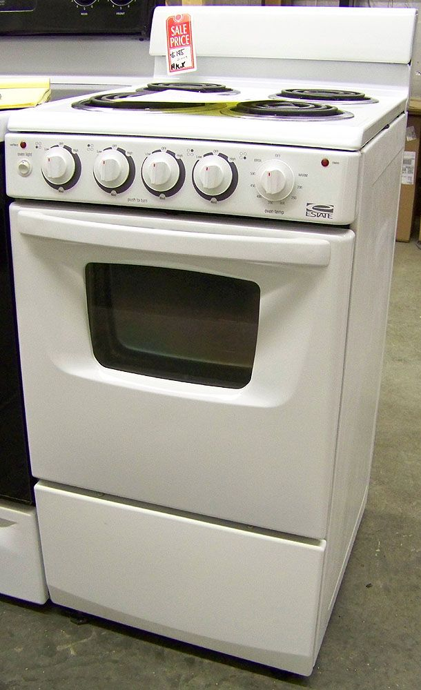 estate apartment size electric stove in chesterville il