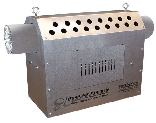 Green Air 12-LP CO2 Generator 12 CU. FT/HR Propane