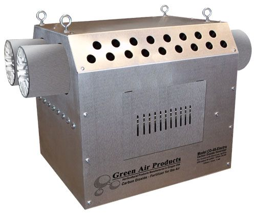 GREEN AIR  CO2 GENERATOR Burner Natural Gas