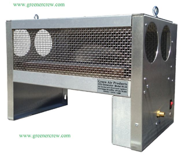 NATURAL GAS INFRARED CO2 GENERATOR