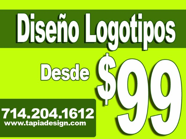 Diseño de Logos en Orange County (714)204-1612