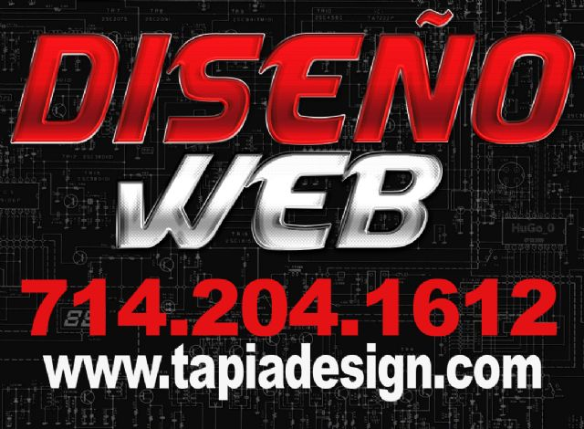 Diseño Web en Santa Ana Long Beach Los Angeles