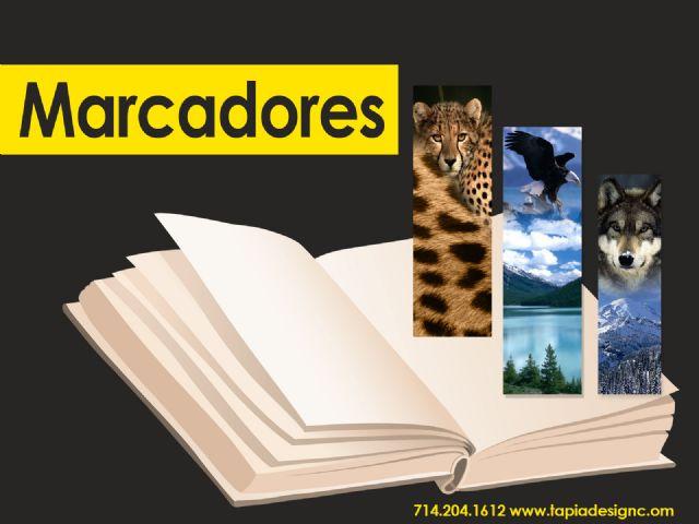Impresion de Bookmarks Marcadores para Libros
