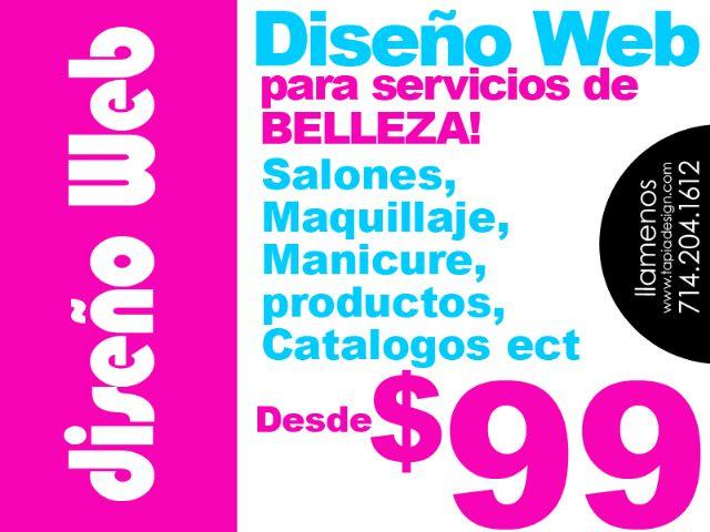 Diseño de Websites para Salones de Belleza