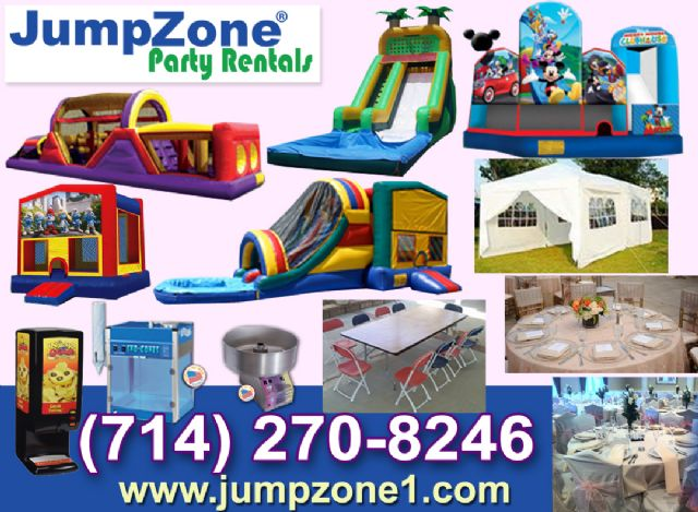 Jumpers for rent in Garden Grove California