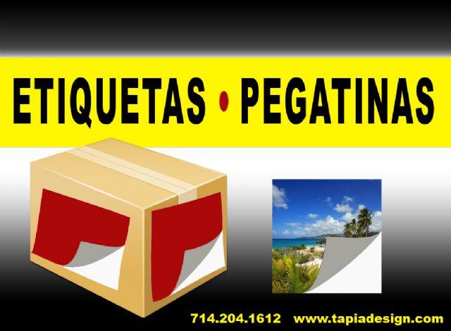 Impresion Imprenta de Etiquetas Labels Pegatinas