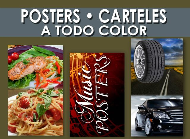 Impresion de Posters Imprenta de Posters Anaheim
