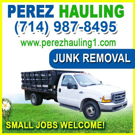 Junk Removal company in Anaheim Orange