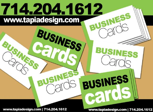 Business Cards printing in Anaheim Garden Grove CA