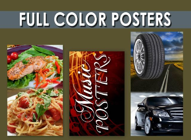 Posters printing in Orange County Anaheim Orange