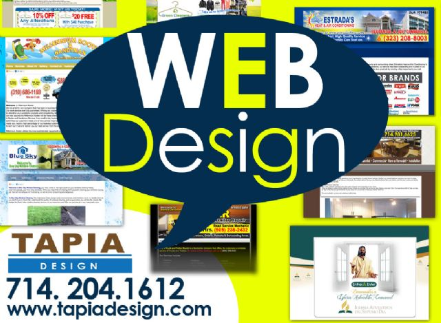 Web designer in Anaheim Web design services