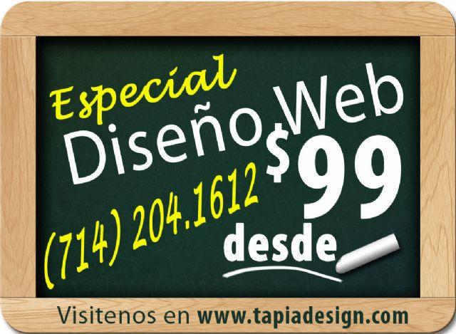 Diseño de Paginas Web Anaheim La Puente Pasadena