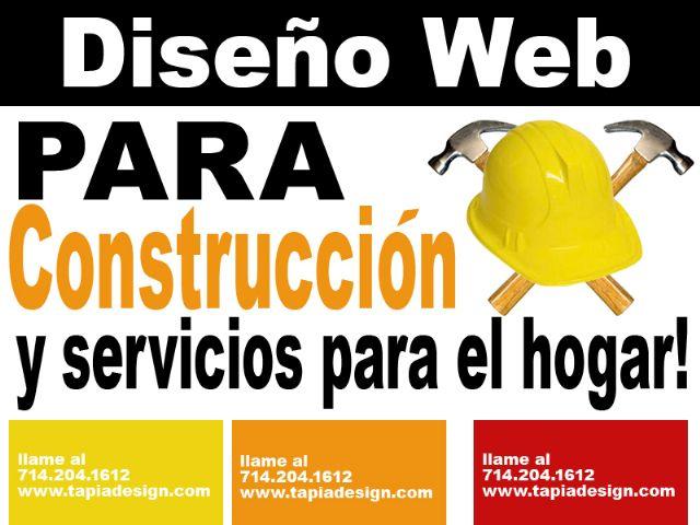 Diseño de Websites para remodelaciones Jardineria