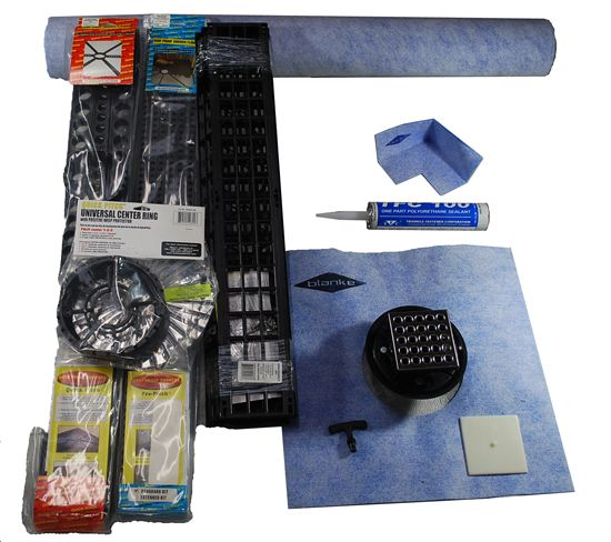 11 in 1 Kit Shower Floor Drainage Kit 3 x 5